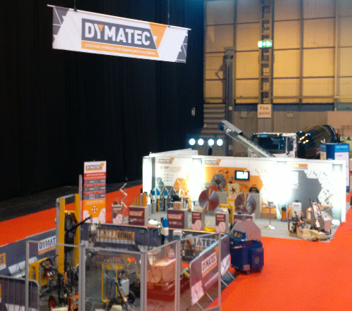 Dymatec UK Concrete Show 2015